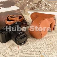 Jual Fujifilm X-A2/X-A1/X-M1 Leather Bag/Case/Tas Kamera Murah