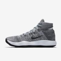Sepatu Basket Nike React Hyperdunk 2017 Flyknit Cool Grey Original
