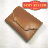 Jual Dompet kartu simpel muat banyak kulit sapi asli | card wallet Murah