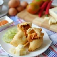Jual Pizza Goreng Indosaji - Smoked Beef Murah