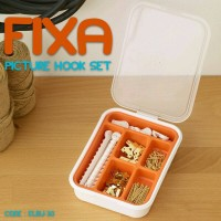 Produk Rumah Tangga- FIXA Picture Hook- Pengait Gambar 116pcs