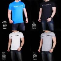 Kaos pria murah giordano asli cowok kaos tshirt tee hitam putih abu
