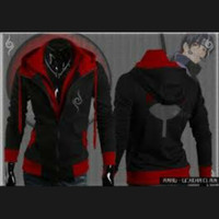 PROMO Jaket Anbu Itachi / Jaket Ninja Anbu Naruto Anime Cosplay MURAH