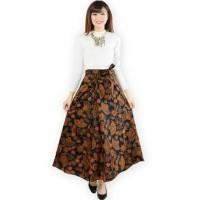Jual Wrapped A-Line Long Skirt / Rok Batik Lilit Murah
