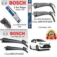 WIPER MOBIL AGYA BOSCH CLEAR ADVANTAGE FRAMELESS 2 Pcs (kn-kr)