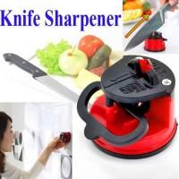Harga pengasah pisau kitchen gadget sucker sharpener | antitipu.com
