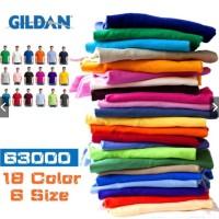 Jual Promo Kaos Polos Gildan Softstyle 100% Cotton Combed 30s Murah