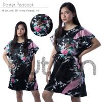 Jual Daster Satin Silk Gown Robe Bunga Peacock Murah Murah