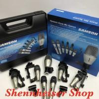 Mic Drum Samson DMK 7 Kit Microphone Drum Set