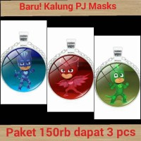 Jual New!! PJ Masks necklace / Kalung PJ Mask Murah