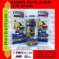 Sampo Kutu - Anti Kutu - Fayolla Shampoo - Izin BPOM isi 60 mL