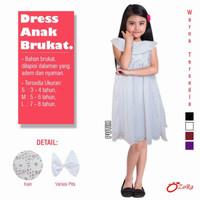 baju dress PUTIH blouse anak perempuan PESTA branded import OZORA Cewe