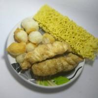 TERMURAH paket Seblak / Cuanki (Tahu goreng + Mie kering + Siomay)