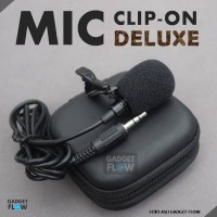 Jual Microphone / Mic Clip On DELUXE 3.5 mm For Android Murah