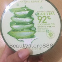 Jual NATURE REPUBLIC - Soothing & Moisture Aloe Vera 92% Soothing Gel 300ml Murah