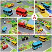 Jual Mainan Maps Jalanan Mobil Bis Bus Tayo / Cars / Hotwheels - Edukasi Murah