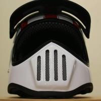 Helm Cakil Putih Bintang Full Face High Quality Bagus Keren Murah