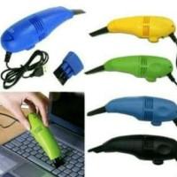 Jual Buy 1 Get 1 Mini USB Vacuum Keyboard Cleaner for Laptop Computer PC Murah