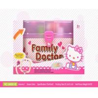 Jual Terlaris Mainan Anak Family Doctor Box Hello Kitty - Mainan Dokter-Dok Murah