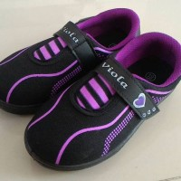 viola darlene ungu - sepatu sekolah hitam anak perempuan cantik murah