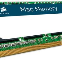 Jual Corsair Mac Memory — 8GB DDR3 SODIMM Memory Kit (CMSA8GX3M1A1333C9)  Murah