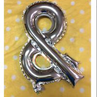 Promo Balon Foil Huruf Simbol Bagus Termurah High Quality Keren