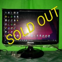 LED Monitor Komputer Samsung 19inch wide S19A100