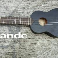 Jual ukulele grande suprano hitam Murah