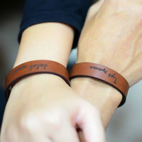 gelang couple custom nama