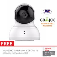 Jual Xiaomi Yi Dome Home Cctv Camera 360 Vision International + MMC 16GB  Murah