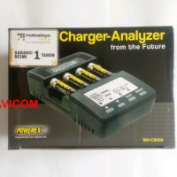 Maha Powerex MH-C9000 WizardOne Charger-Analyzer for 4 AA / AAA