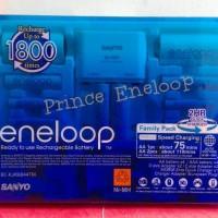 Sanyo Eneloop Family Pack 2D,2C,4AA,4AAA,R06