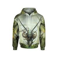 Jaket Hoodie Sweater Pria Anime TIGER  3D FullPrint PullOver ART 1