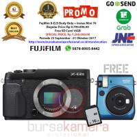 Jual Fujifilm X-E2S Body Only + Fujifilm Instax Mini 70 Murah Murah