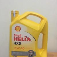 Shell Helix HX5 / HX 5 15W-40 (galonan) MURAH DAN ASLI !!