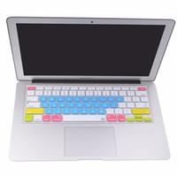 Jual Silicone Keyboard Cover Protector - Macbook Pro 17 Inch - Biru Murah