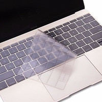 Jual Full Black Keyboard Silicone Skin for Macbook 12 Inch - Transparan Murah