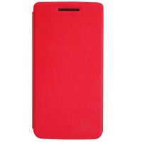 Jual Nillkin Lenovo S960 Vibe X Case V-Series Leather Flip Cover - Red Murah