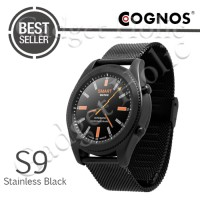 Jual Jual Cognos Smartwatch S9 - Heart Rate - Stainless Black murah Murah