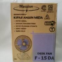 Kipas Angin Meja / Desk Fan Merk Maspion F-15DA 6 Inch