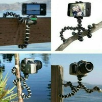 Jual Mini Flexible Tripod Gorilla Pod Octopus + Holder U | Gorila Size S Murah