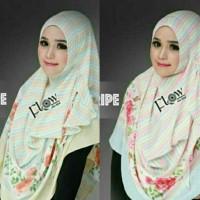Jilbab Instan Flow Stripe Terbaru dan Eksklusif