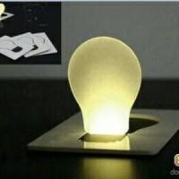 Jual Lampu Kartu Emergency LED Unik Tipis Senter Murah