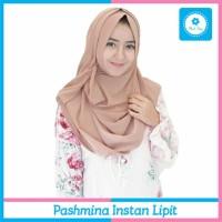 Jual Jilbab Pashmina Instan Lipit Kerudung Hijab Instan Cantik