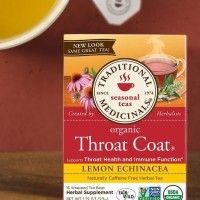 Jual Seasonal Tea - Organic Throat Coat Lemon Echinacea 16 wrapped tea bags Murah