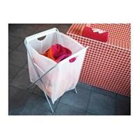 Jual Tas Kantong Cucian Baju Laundry Bag IKEA JALL Minimalis Putih Pakaian Murah