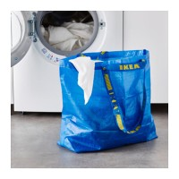 Jual Medium IKEA FRAKTA Shopping Laundry Bag Tas Kantong Belanja Serbaguna Murah