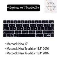 Jual KEYBOARD PROTECTOR MACBOOK PRO TOUCH BAR 13 15 INCH RETINA NEW 2016 Murah