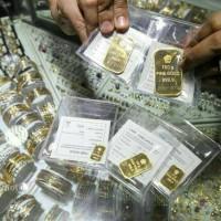 Jual Logam Mulia LM 5 gram 99.99 fine gold asli antam Murah