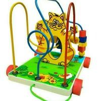 Jual Mainan edukasi / Alur Kawat 3 Kucing  Murah